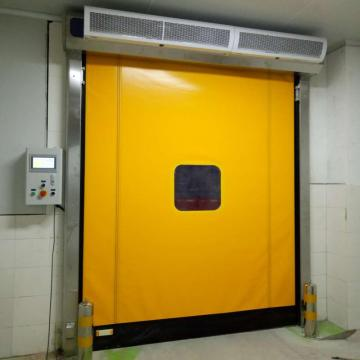 self-repairing high-speed door