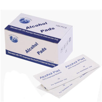 Disposable Individual Cleaning Alcohol Disinfectant Wipes