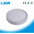12W Rimless Round Surface Led Panel Light سوار شده است