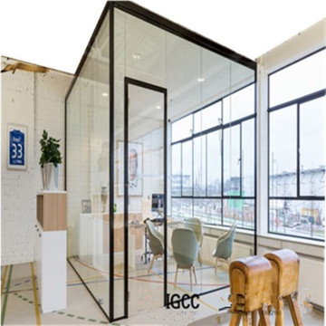 12mm Tempered Office Interior Partition Glass