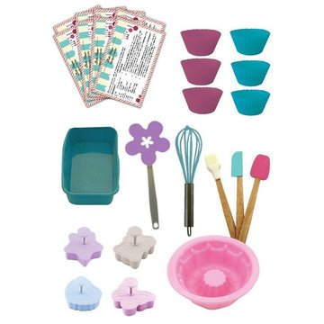 Children Gift Box Silicone Kids Baking Tools Kits