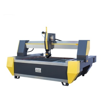 5 axis waterjet glass aluminum cutting machine