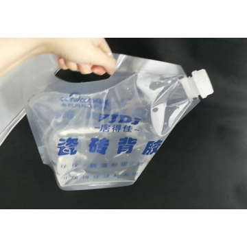 Spout Pouch Plastic capacity Bag With Big Cap