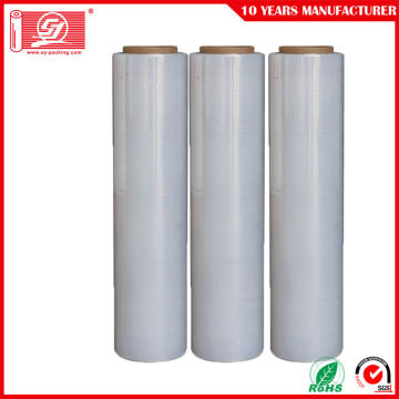clear wrapping film for hand use