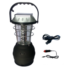 Hand Crank Solar Lantern with mobile charging