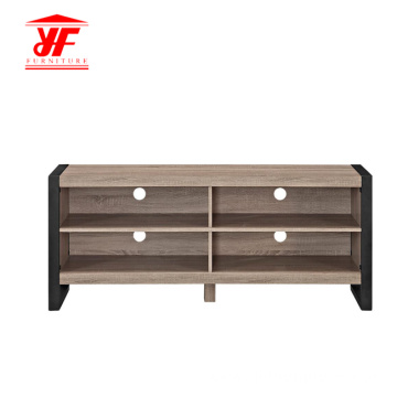 Grey Simple TV Side Unit for Bedroom