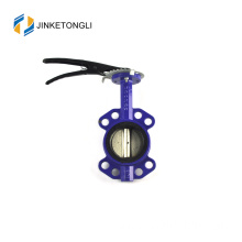 JKTLWD002 rubber lined cast iron 12 inch butterfly valve