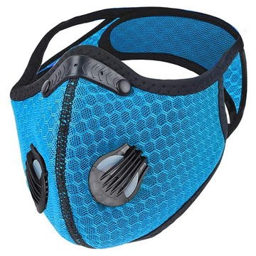 Washable Sport Face Mask With Replaceable Filter