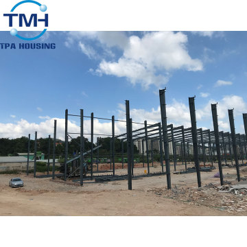 pre fabricated metal building steel structure warehouse