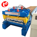 Color glazed tile steel roofing roll forming machine