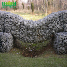 pvc hot dip galvanized woven gabion basket