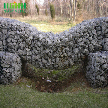 Galvanized Woven Gabion Retaining Wall for Private Property