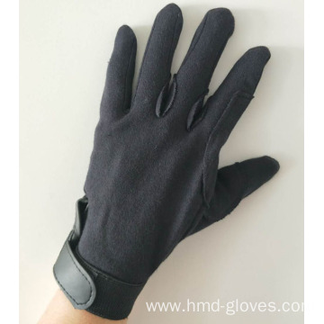 Black Deluxe Cotton Gloves