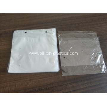 Clear Poly Bags Lay-Flat Open Top Packing Bag