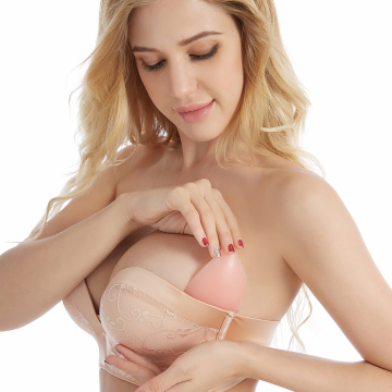 Breast Enhancers Breathable Strapless Bra Pad