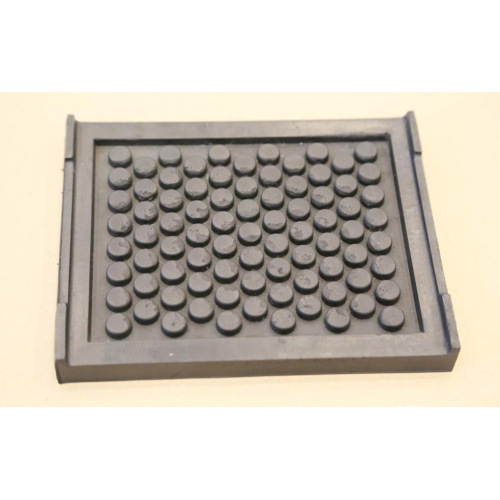 Railway insulating rubber pad