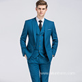 solid color formal men's manly piece wedding set for men suits 3 pieces