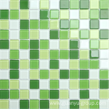 crystal glass mosaic tile