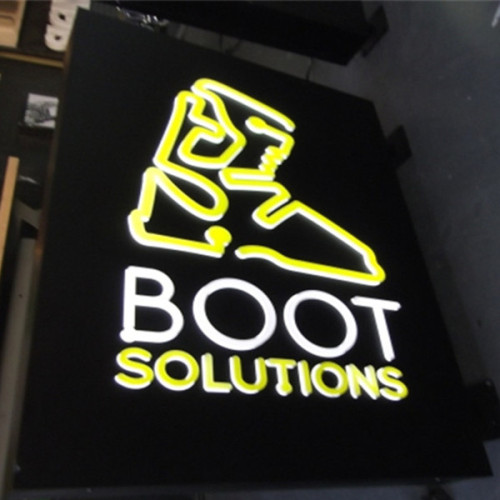 Outdoor Advertising Metal Light Box Signs
