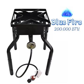 Outdoor High Pressure Burner Stove with Adjustable Legs