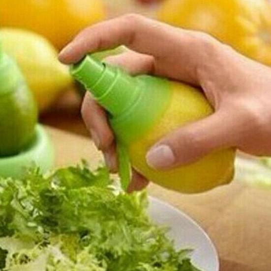1PC Orange Juice Squeeze Juice Juicer Lemon Spray Mist Orange Fruit Squeezer Sprayer Kitchen Cooking Tool OK 0265