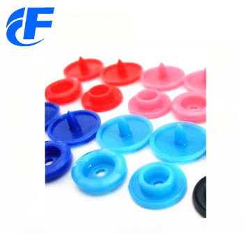 KAM plastic colorful snap button of best quality