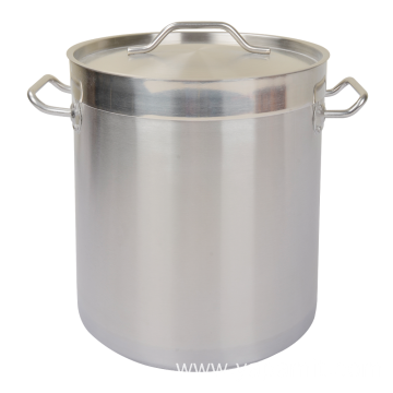 Stainless Steel 04 Style Compound Bottom StockPot