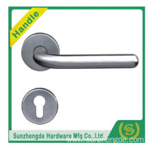 SZD STH-110 Made In China Die-Cast Stainless Stell Steel Door Lever Handle On Rose with cheap price