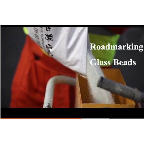 High Index Screen Materials Reflective Glass Beads