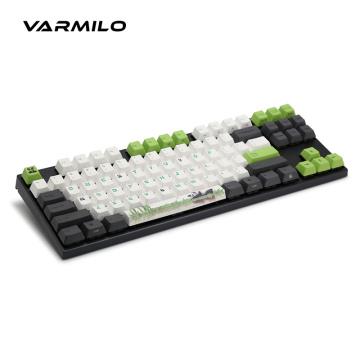 Varmilo VA68M MIYA PRO Panda Wired Mechanical Keyboard MY68NR1W/LLPaNDv-8 White LED Cherry MX Switch