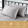 100% Pure 2pcs Silk Pillowcase with Hidden Zipper