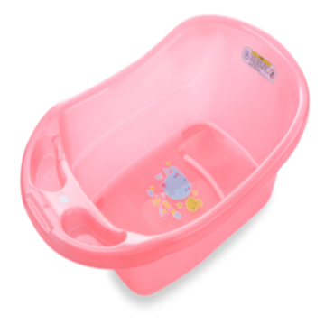 Safe Small Size Classic Transparent Infant Bathtub