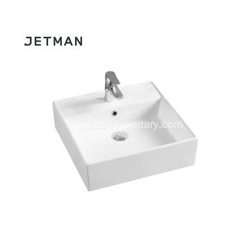 White Ceramic Bathroom Wash Basins/Vessel Sink