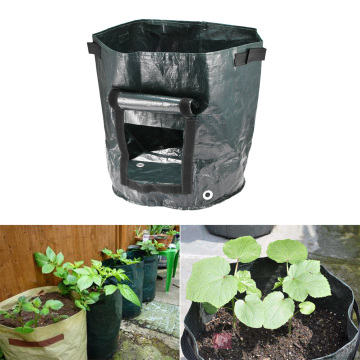 Potato Cultivation Moisturizing Bag With Side Windows Fill the Gro-Sack with soil or Compost Kitchen Supplies for Garden Balcony