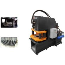 Angle steel notching machine