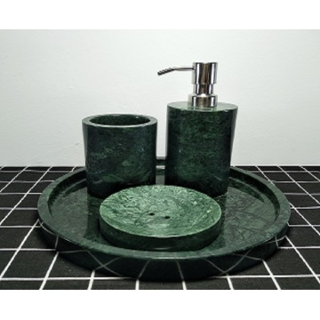 natural granite round trays