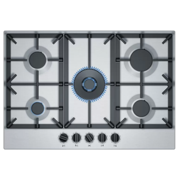 Stainless Steel Neff Built-in Plate 5 Burner
