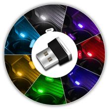Mini LED Car Light USB Atmosphere Light Plug Emergency Lighting Car-styling Auto Interior Lights Ambient Lamp Car Accessory