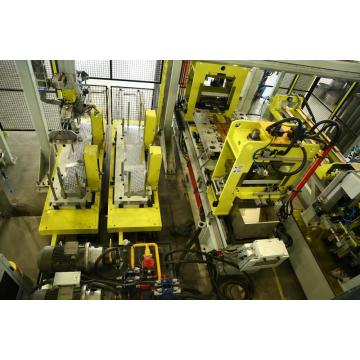 production line of appliance metal parts 100