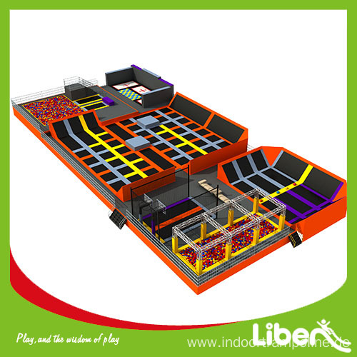 China Top Indoor Trampoline Park Provider
