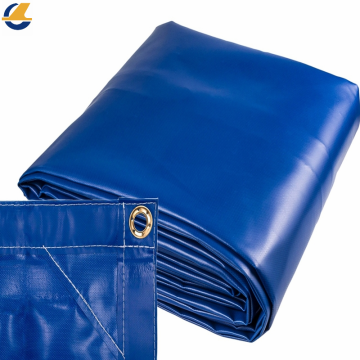 Waterproof plastic fabric PE tarpaulin.