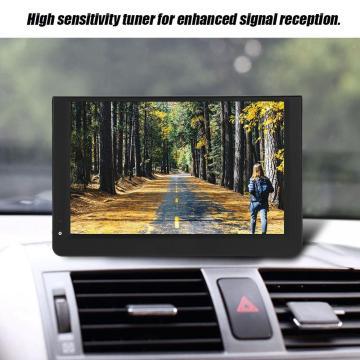 LEADSTAR 12 inch HD Portable TV DVB-T2 ATSC ISDB-T Analog Led Televisions Support TF Card USB Audio Video Player Car TV EU Plug
