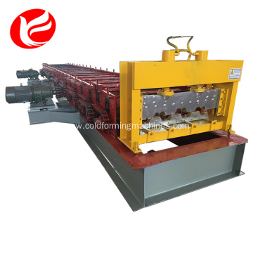 Steel roofing floor deck roll forming machines