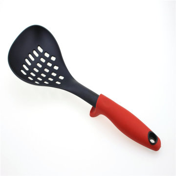 Heat Resistant Cooking Nylon Skimmer With Soft Handle