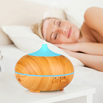 Classic Wood Grain Good Electric Mini Mist Humidifier