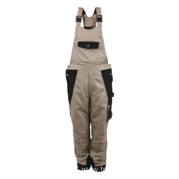 65% polyester 35% cotton Bib Pants