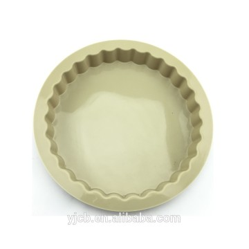 hot sale round silicone cake tart mold