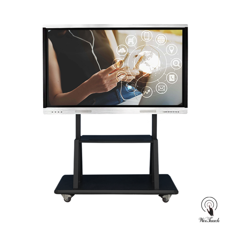 65 Inches 4K Touchboard with mobile stand