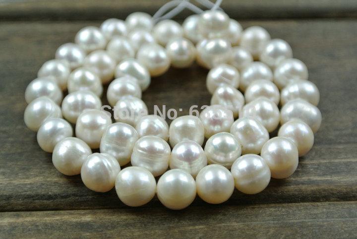 1 strand 6~7mm Fresh Water Pearl Potato Loose Beads