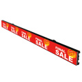 768*256 Digital Board Shelf Led Display